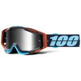 100% GOGGLE THE RACECRAFT ABYSS BLACK