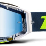 100% Racecraft Eclipse - Mirror Blue Lens
