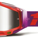 100% Racecraft Goggle Watermelon - Mr. Silver Lens