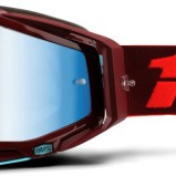 100% Racecraft Kikass - Mirror Blue Lens