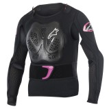 ALPINESTARS GIRLS PROTECTOR JACKET STELLA BIONIC BLACK/PURPLE