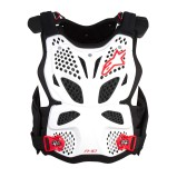 ALPINESTARS CHEST PROTECTOR A-10 WHITE/BLACK/RED