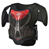 ALPINESTARS KIDS CHEST PROTECTOR A-5 S BLACK/GREY/RED (FOR KIDS)