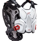 ALPINESTARS CHEST PROTECTOR A-1 WHITE/BLACK/RED