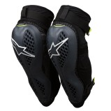 ALPINESTARS KNEE/SHIN GUARD SEQUENCE ANTHRACITE/YELLOW FLUO