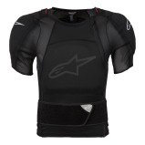 ALPINESTARS PROTECTOR JACKET SHORT SLEEVE SEQUENCE BLACK