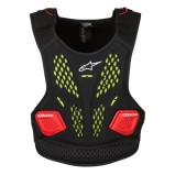 ALPINESTARS MX CHEST PROTECTOR SEQUENCE ANTHRACITE/RED