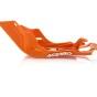 ACERBIS SKID PLATE KTM SX 125/150 19-18, EXC 125/150 17-19, HUSQVARNA TC/TX 125 19-19, TE 125 17-19, ORANGE