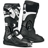 SIDI KIDS MX BOOTS FLAME BLACK/WHITE (FOR KIDS)