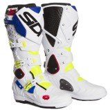 SIDI MX BOOTS CROSSFIRE 2 SRS YELLOW FLUO/WHITE/BLUE