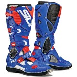 SIDI MX BOOTS CROSSFIRE 3 BLUE/WHITE/FLUO RED