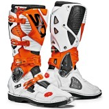 SIDI MX BOOTS CROSSFIRE 3 WHITE/ORANGE/BLACK