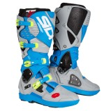 SIDI MX BOOTS CROSSFIRE 3 SRS LIGHT BLUE/ASH