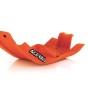 ACERBIS SKID PLATE KTM SX-F 250/350 16-18, HUSQVARNA FE/FC 250/350 17-18, ORANGE