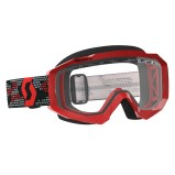 SCOTT GOGGLE HUSTLE MX ENDURO RED/BLACK - CLEAR ANTI-FOG