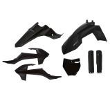 ACERBIS PLASTIC KIT FULL-KIT KTM SX 65 16-20, BLACK