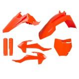 ACERBIS PLASTIC KIT FULL-KIT KTM SX 65 16-18, ORANGE 16