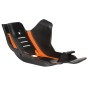 ACERBIS SKID PLATE KTM EXC-F 450/500, SX-F 450, HUSQVARNA FE 450/500, FC 450, BLACK