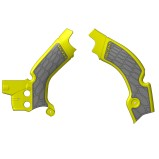 ACERBIS FRAME GUARD X-GRIP SUZUKI RMZ 450 08-17, YELLOW/GREY