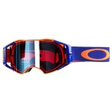 OAKLEY MX GOGGLE AIRBRAKE MX ORANGE/BLUE - PRIZM MX SAPPHIRE ANTI-FOG