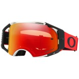 OAKLEY MX GOGGLE AIRBRAKE MX WHITE/RED - PRIZM MX TORCH ANTI-FOG