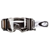 OAKLEY GOGGLE AIRBRAKE MX RACE-READY ROLL-OFF, MATTE WHITE SPEED/CLEAR ANTI-FOG