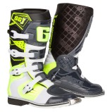 GAERNE KIDS MX BOOTS SG-J WHITE/NEON YELLOW/GREY