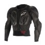 ALPINESTARS PROTECTOR JACKET BIONIC ACTION BLACK/RED - XXL
