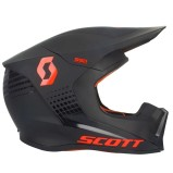 SCOTT HELMET 550 HATCH - BLACK/ORANGE