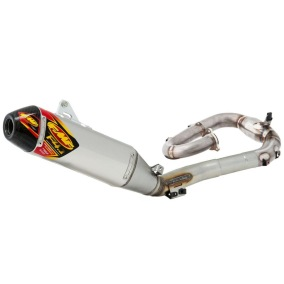 FMF EXHAUST SYSTEM FACTORY 4.1 RCT YAMAHA WRF/YZF 250 14-18, STAINLESS STEEL/ALUMINIUM/CARBON,