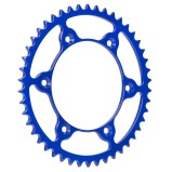 FRITZEL REAR SPROCKET ZACKENKÖNIG ULTRALIGHT HUSQVARNA, HUSABERG, KTM, 520 PITCH, BLUE, STEEL