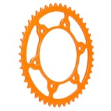 FRITZEL REAR SPROCKET ZACKENKÖNIG ULTRALIGHT HUSQVARNA, HUSABERG, KTM, 520 PITCH, ORANGE, STEEL