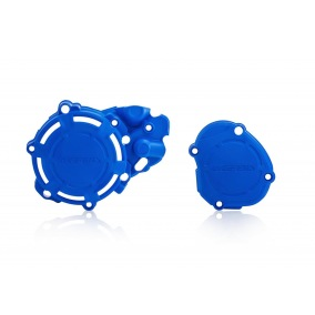 ACERBIS CLUTCH/IGNITION COVER PROTECTION X-POWER YAMAHA YZ 125 05-19 - Blue