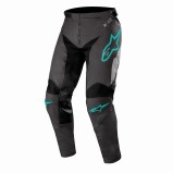 ALPINESTARS RACER TECH MX PANTS COMPASS - BLACK/MID GREY/TEAL