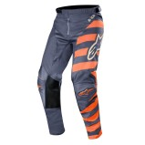 ALPINESTARS RACER MX PANTS BRAAP - ANTHRACITE/ORANGE FLUO/SAND