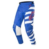 ALPINESTARS RACER MX PANTS BRAAP - BLUE/WHITE/RED