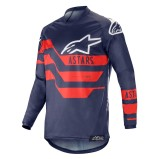 ALPINESTARS RACER JERSEY FLAGSHIP - DARK NAVY/BLUE/RED