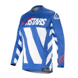 ALPINESTARS RACER JERSEY BRAAP - BLUE/WHITE/RED