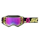 SCOTT GOGGLE PROSPECT Black/Yellow - Yellow Pink Chrome Works
