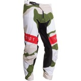 THOR MX PANTS PRIME PRO BADDY Camo - White/Olive/Black