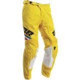 THOR MX PANTS PULSE PINNER Yellow