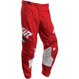 THOR MX PANTS PULSE PINNER Red