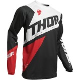THOR JERSEY SECTOR BLADE Charcoal/Red