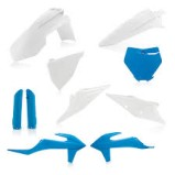 FULL KIT PLASTIC KTM SX/SFX 2019 - 2020 WHITE/BLUE