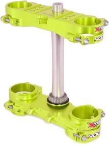 X-Trig ROCS Triple Clamp Kit - 21,5 MM OFFSET - Yellow
