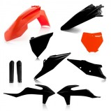FULL KIT PLASTIC KTM 85 18/19 - ORANGE/BLACK