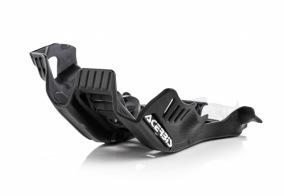 SKID PLAT HUSQ TC + KTM SX 250 19-20 - BLACK/WHITE