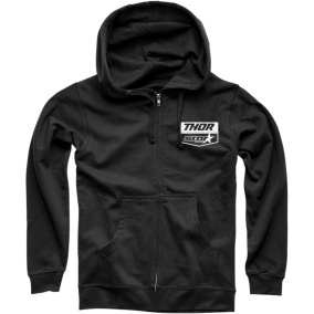 THOR FLEECE STAR RACING BLACK - S