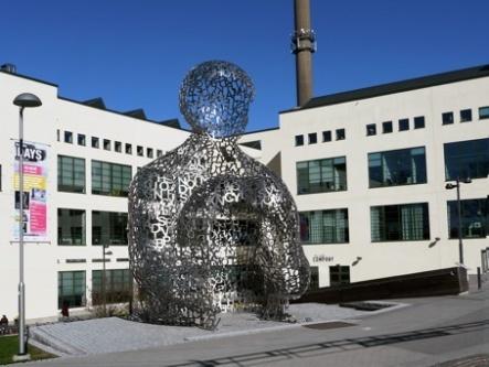 Karta Skulpturer Boras.Boras Swedguide International Sweden World