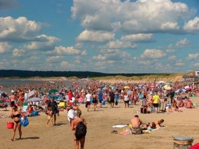 Östra stranden.